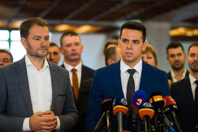 Kristián Čekovský - OĽANO tlačovka